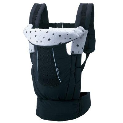 【ibaby獨家優惠】西村媽媽 日本LUCKY Side Plus腰帶型舒適背帶-黑活動優惠價$2799