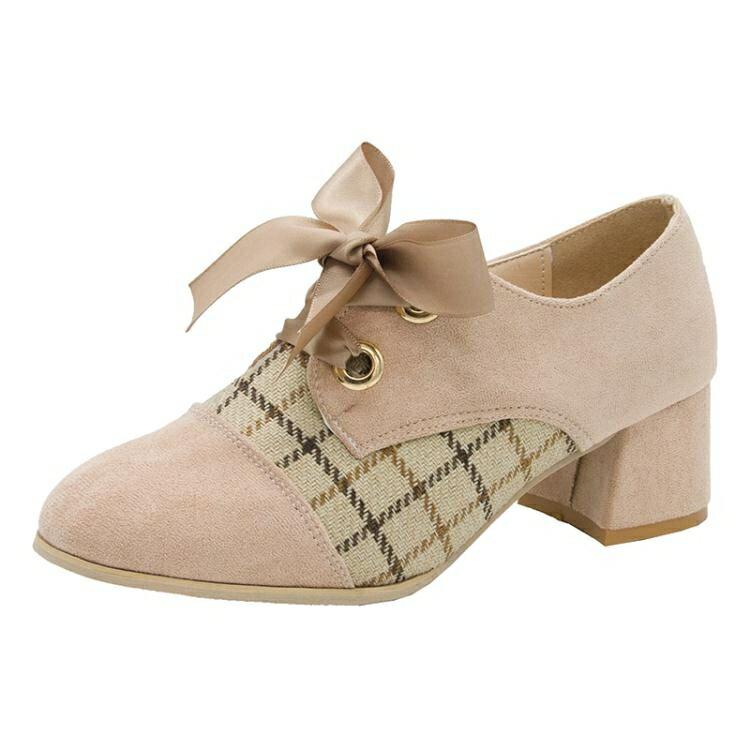 復古皮鞋2021新款春季英倫小皮鞋女復古高跟鞋子女深口小香風粗跟單鞋女鞋 【全館免運】