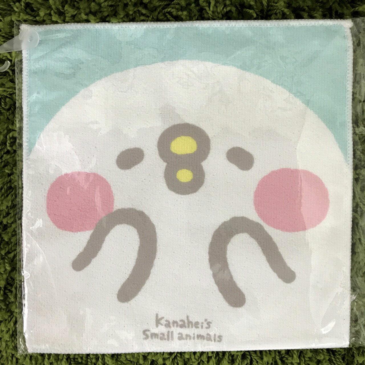 【真愛日本】17110600002 小方巾25*25cm-卡娜赫拉P助new 卡娜赫拉的小動物 兔兔 P助 日用品 小毛巾 擦拭巾