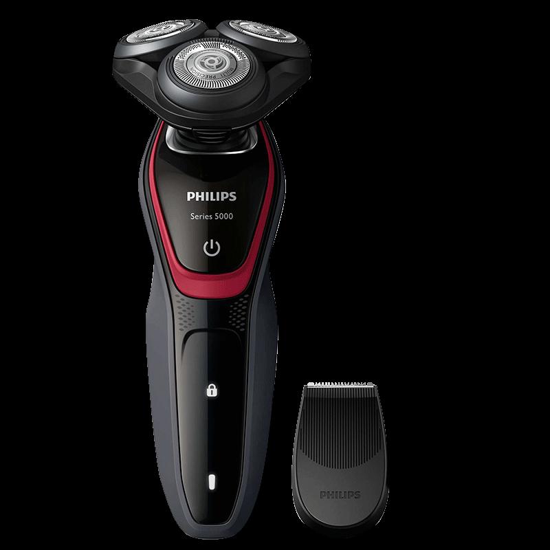 【Philips飛利浦 三刀頭可水洗電鬍刀】乾濕兩用電鬍刀 乾式刮鬍刀 電動刮鬍刀 電鬍刀 剃鬚刀【AB426】