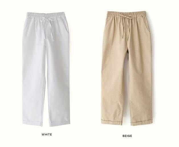 韓國簡約寬褲  系列  四色  超棒
