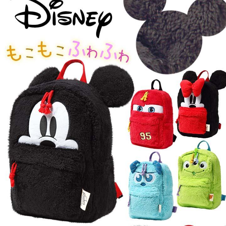 日本Disney 迪士尼  /  兒童卡通造型後背包 米奇 米妮 毛怪 CARS 三眼怪-日本必買 日本樂天代購(1770)。滿額免運 0