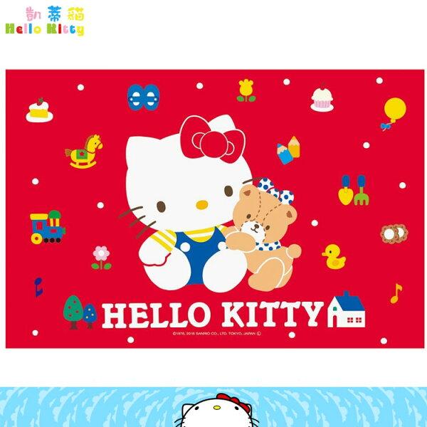 三麗鷗凱蒂貓HelloKitty遠足野餐墊郊遊墊海灘墊烤肉墊郊遊坐墊單人用日本進口正版359750