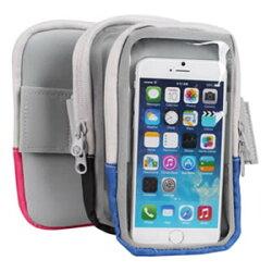 尼龍運動用手機臂套 (4.7吋) APPLE/  HTC /  INFOCUS / ASUS 隨身袋