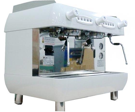 租購半自動咖啡機 KLUB R2 雙孔營業用咖啡機+磨豆機 (每個月租購只要3600元)--【咖啡簡餐店適用的咖啡機】