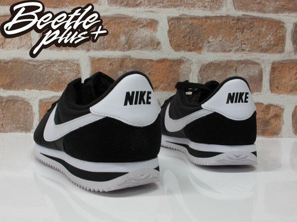 男生 BEETLE NIKE CORTEZ BASIC NYLON 黑白 白黑 尼龍 阿甘鞋 819720-011 2