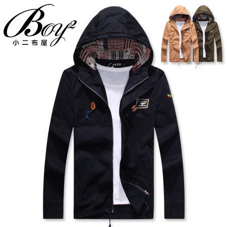 ☆BOY-2☆【NQOS8801】美式連帽軍裝外套 1
