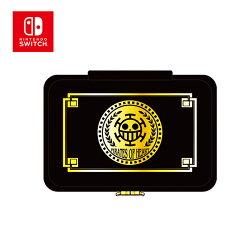 紅心款【日本正版】航海王 Switch 硬殼 收納包 防潑水 硬殼包 主機包 海賊王 任天堂 Nintendo - 907459