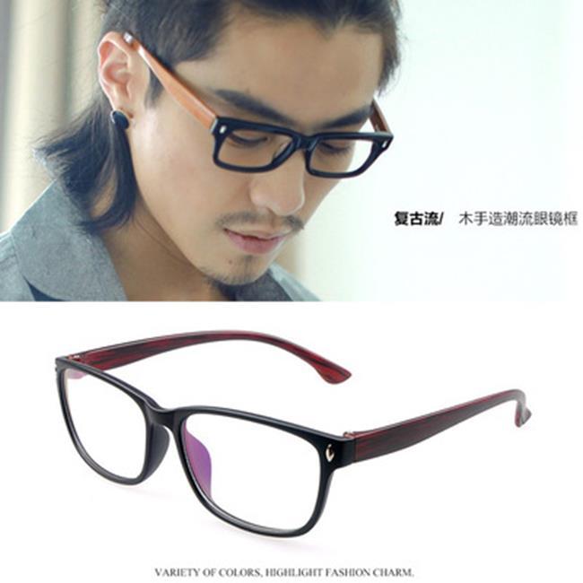 50%OFF【J020092GLS】復古仿木眼鏡框潮流眼鏡架批發綠町眼鏡廠家眼鏡批發 - 限時優惠好康折扣