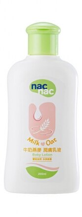 『121婦嬰用品館』nac 牛奶燕麥潤膚乳液 200ml 0
