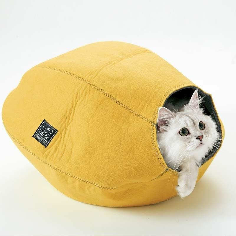 《Lifeapp》 寵愛貓窩 檸檬黃) 約W39xD47xH26cm