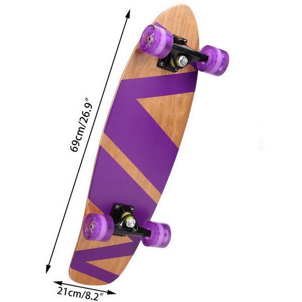 27inch Wooden Cruiser Style Skateboard Deck Skate Board 5