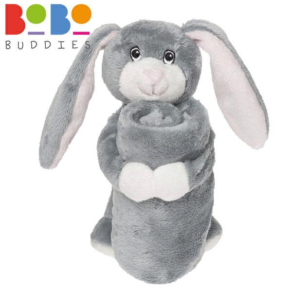 英國 BoBo Buddies 寶寶安撫巾 / 安撫玩偶 32x32cm - 兔子