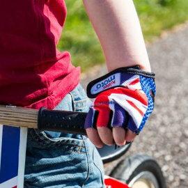 英國kiddimoto兒童手套(時尚英倫繽紛彩點酷炫骷髏)【寶貝樂園】