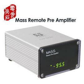 志達電子 MASS 電光火石 Mass Remote Pre Amplifier 紅外線搖控 前級擴大機