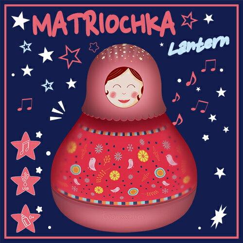 Lumitusi- 俄羅斯娃娃 音樂走馬燈 星星投射燈 來自法國Trousselier設計 0