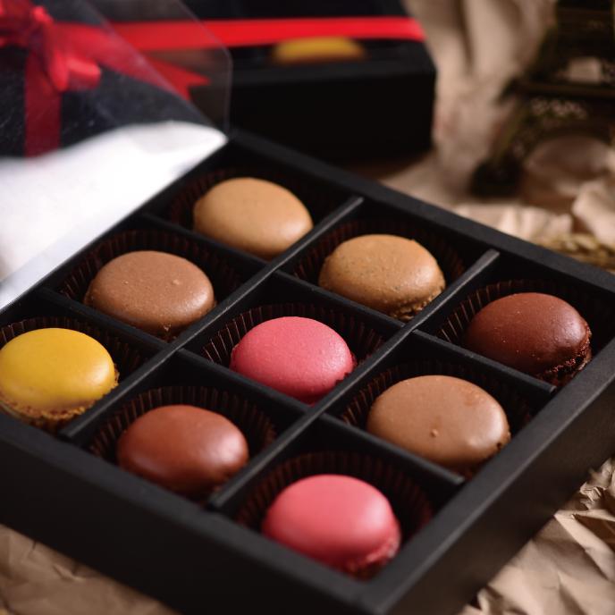 【食感旅程Palatability】 甜蜜蜜馬卡龍9入禮盒  冬季限定聖誕甜點★樂天歡慶母親節滿499免運 0