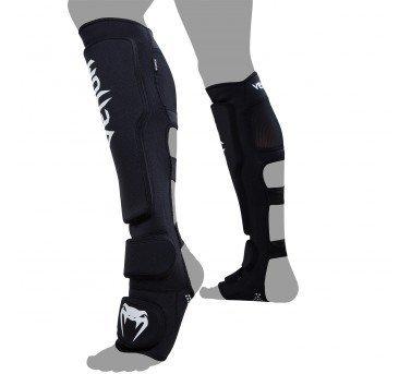 [古川小夫]ML碼MMA散打搏擊拳擊格鬥UFC品牌VENUM撞傷防護護具~棉質護腳脛