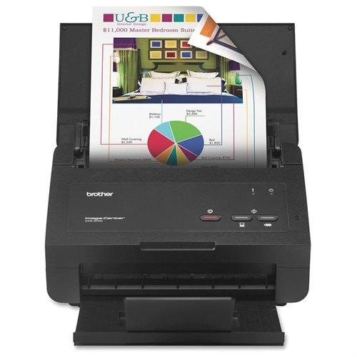 Refurbished Brother ImageCenter ADS-2000 Sheetfed Scanner 0