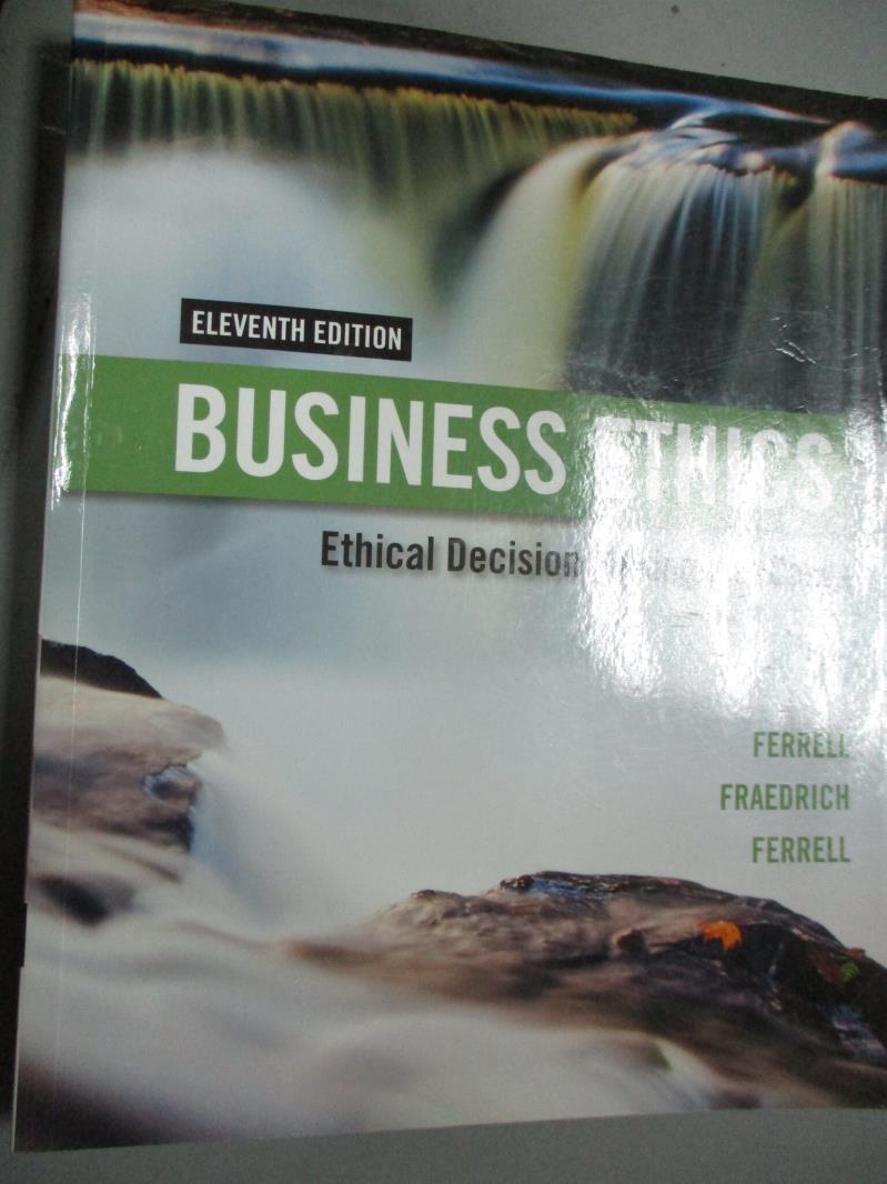 【書寶 書T9/傳記_PHS】Business Ethics 11 E_Ferrell