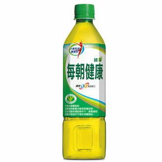 每朝健康 綠茶 650ml