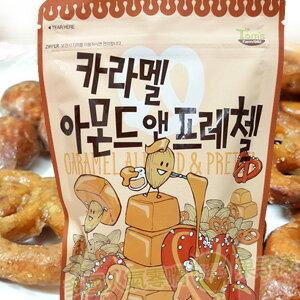 *即期促銷價*韓國 焦糖杏仁果&蝴蝶餅 [KR236] - 限時優惠好康折扣
