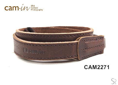 Nikon-Mall:【Cam.in】潮流相機背帶型號:CAM2271顏色:咖啡色