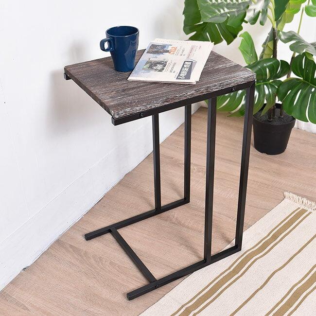 凱堡 桐木邊桌 實木邊桌 仿舊系列 小茶几沙發邊桌【H05070】 0