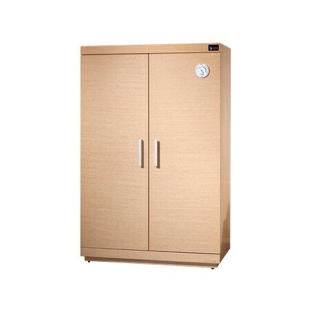 防潮家 SH-390 快速除濕型木質防潮櫃/鞋櫃/名牌包櫃 (白橡木) 330公升