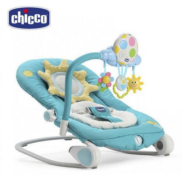 ChiccoBalloon安撫搖椅造型版-亮麗藍【悅兒園婦幼生活館】