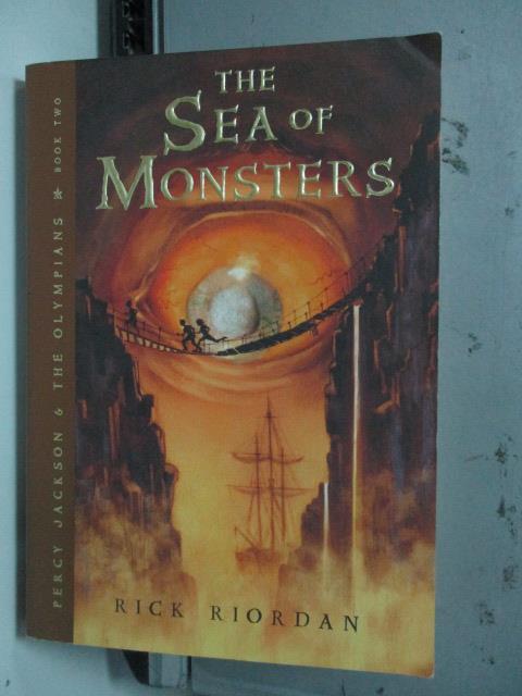 【書寶二手書T1/原文小說_LQO】The Sea of Monsters_Rick Riordan