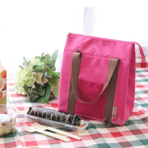 法蒂希大號防水保溫包便當包 午餐包 便當包 冰包 母乳保鮮包 保溫袋 韓系側背式 斜背式手提包【GF129】◎123便利屋◎