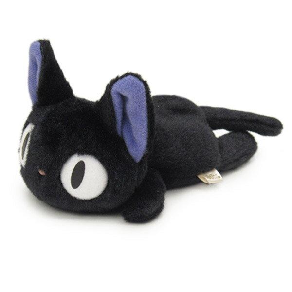【真愛日本】12111300020  短絨沙包手玉娃-黑貓JIJI奇奇   魔女宅急便 黑貓 奇奇貓   沙包娃娃 公仔 正品