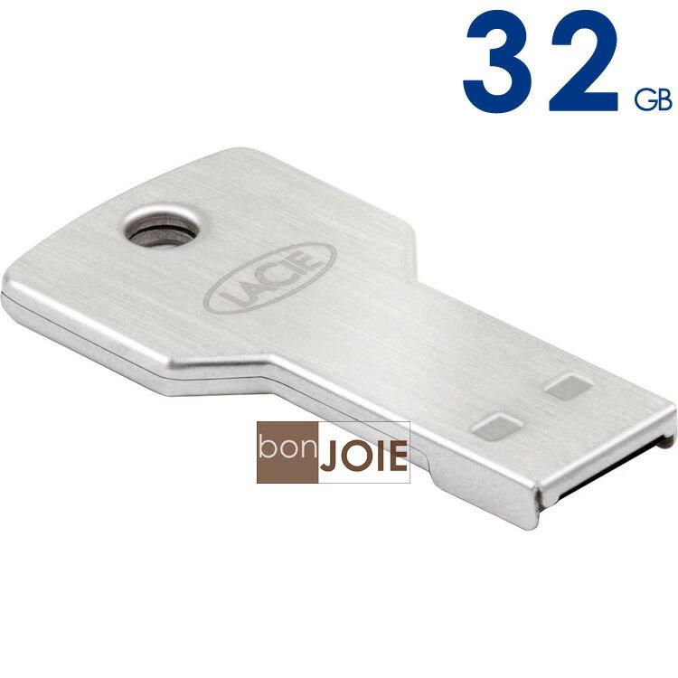 ::bonJOIE:: 美國進口 LaCie PetiteKey 32G 鑰匙型 USB 2.0 隨身碟 防水 100 公尺 Flash Drive 金屬材質 iamkey Cookey 新款 32GB 32 GB G Petite Key