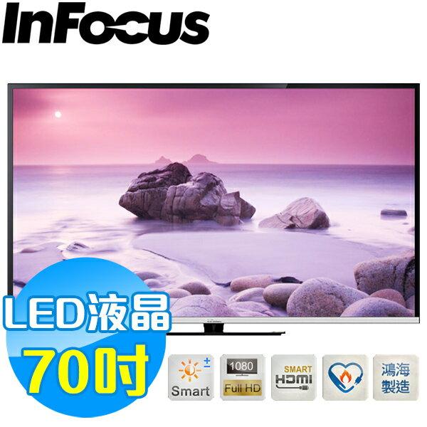 InFocus富可視 70吋 液晶連網顯示器 XT-70CM802 鴻海製造