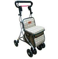 銀髮族用品與保健鋁製銀髮族健步車(附袋)