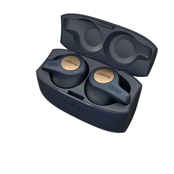 Jabra Elite Active 65t Copper Blue True Wireless Sport Earbuds Manufacturer Refurbished Sold By Jabra Company Store Rakuten Com Shop