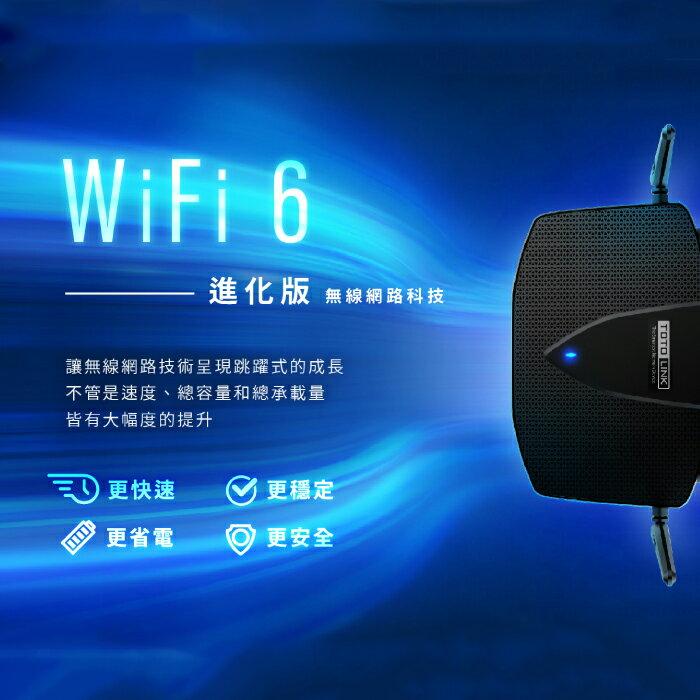 TOTOLINK WiFi6 AX1800 Giga無線路由器 WiFi分享器 無線路由器 X5000R