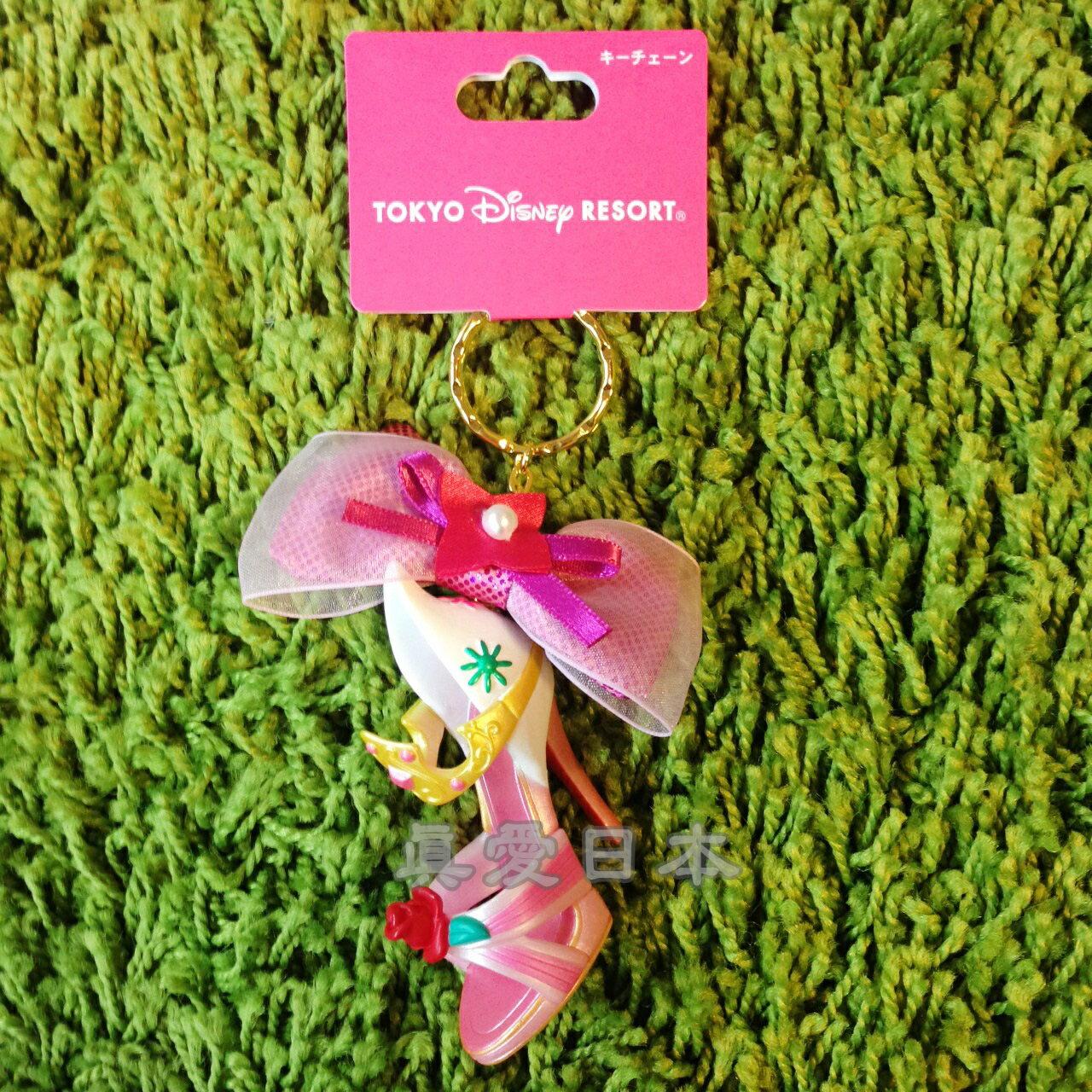 【真愛日本】16041800008樂園限定鎖圈高跟鞋-睡美人 迪士尼 睡美人 Sleeping Beauty 吊飾 飾品 鑰匙圈 正品 限量 預購