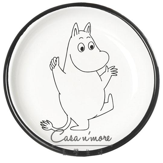 Muurla 盤子 餐盤 琺瑯  嚕嚕米 18 cm 歡欣鼓舞 - 限時優惠好康折扣
