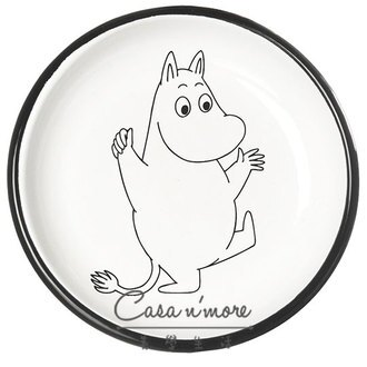 Muurla 盤子 餐盤 琺瑯 嚕嚕米 18 cm 歡欣鼓舞