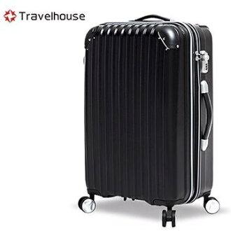 【加賀皮件】TravelHouse 時空獵人 霧面防刮 24吋 行李箱 旅行箱 拉桿箱 【TH2036-24】