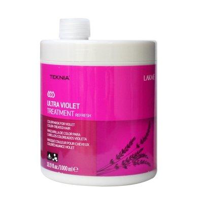 LAKME 紫綴 髮泥 1000ML 染紫紅色系適用?香水綁馬尾?