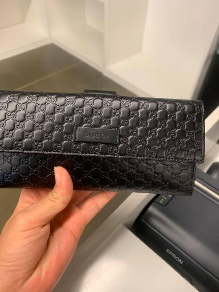 Gucci GUCCISSIMA壓紋LOGO長夾 (現貨+預購) 3