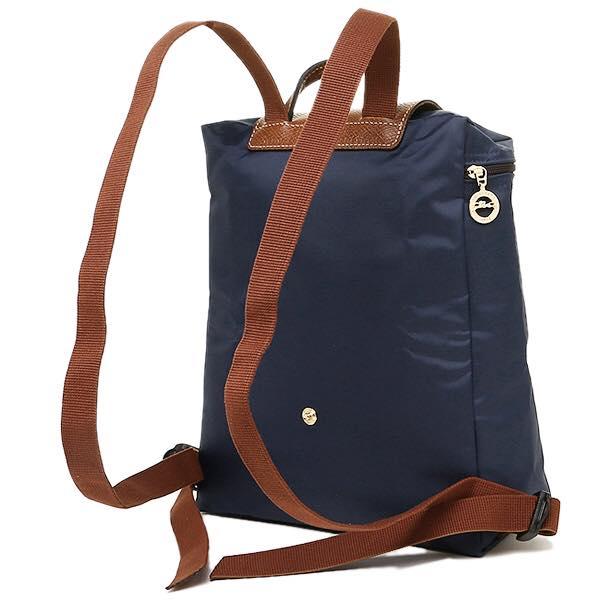 【LONGCHAMP】 LE PLIAGE 深藍折疊後背包【全店免運】 2