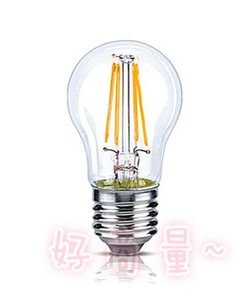 好商量~ OSRAM 歐司朗 4.5W E27 可調光 燈泡 LED 燈絲燈 黃光