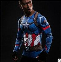 Marvel 男裝服飾推薦到50%OFF SHOP背帶美國隊長電影速乾T最新款漫威歐美系列速乾短T【A030703C】就在50 OFF SHOP推薦Marvel 男裝服飾
