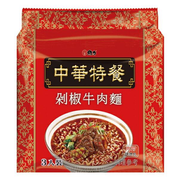 維力 中華特餐 剁椒牛肉麵 135g/袋