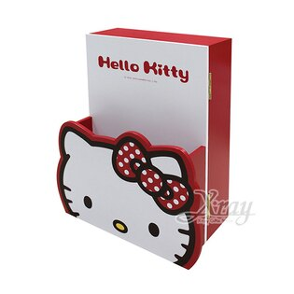 X射線【C525002】HelloKitty信插鑰匙箱-紅,鑰匙盒鑰匙架鑰匙收納盒鑰匙箱鎖箱Keybox信插鑰匙盒帳單收納筒