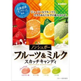 Kanro甘樂四種類牛奶水果糖(80g)